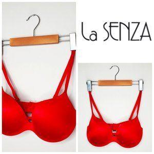 LA SENZA Body Kiss Red Push Up Bra